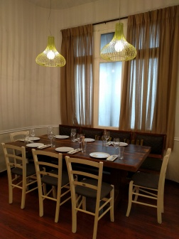 The classy dining room