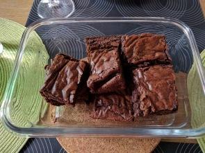 Miss C's yummy brownie