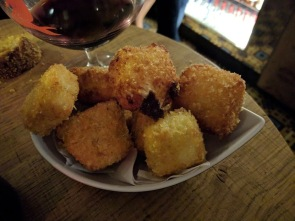 Parmesan and tapioca croquettes
