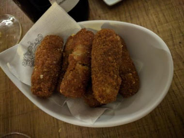 Bayonne ham croquettes. So good!